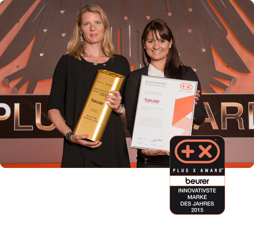 Plus X Award Most Innovative Brand 2015