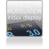 Pulse Modulation Index Display