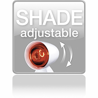 Shade adjustable