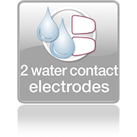 2 Water contact electrodes