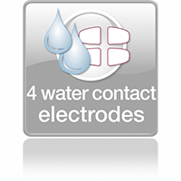 4 water contact electrodes